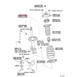 Амортизатор задний KONI 90-5448 Heavy Track Raid Ленд Крузер / Land Cruiser 200