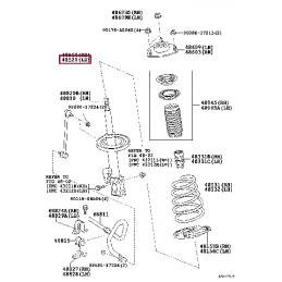 Амортизатор передний KONI Heavy Track 88-1747 для Ленд Крузер / Land Cruiser 200
