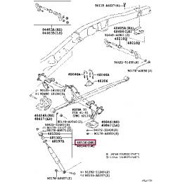 Пружины для занижения PLS задняя ось Land Cruiser 200 и Lexus LX570