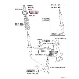 Колесный диск R20 Ленд Крузер 200, Ленд Крузер 100 8.5 8.5x60 FR788T20HB
