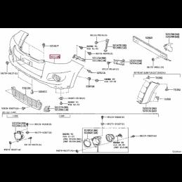 Колодки тормозные HB581F.660 HAWK HPS Brembo GT20 передние LC200 / LX570