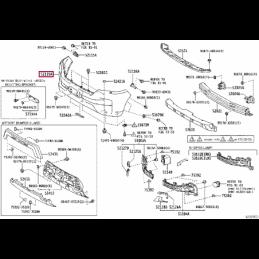 Фонарь внешний правый Ленд Крузер / Land Cruiser 200 07-12 123141R