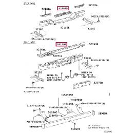 Фонарь внешний левый с диодами Land Cruiser 200 12-