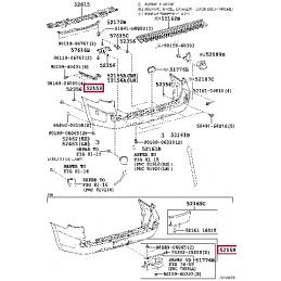 Фонарь правый внешний Land Cruiser 200 16-