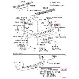 Фонарь левый внутренний Land Cruiser 200 16-