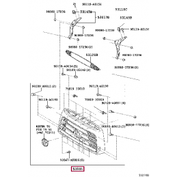 Тюнинг комплект противотуманных фар для Ленд Крузер / Land Cruiser 120