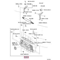 Комплект противотуманных фар для Toyota Tundra, Sequoia