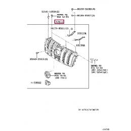 Тормозные колодки FERODO FCP1698H для TOYOTA LANDRUISER 200, ТОЙОТА Ленд Крузер 120/150, Lexus GX460, Лексус 460, перед