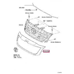 Передние тормозные колодки FERODO FDSE1456 для Ленд Крузер / Land Cruiser 100