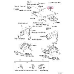 Задние тормозные колодки FERODO FCP1457 для Ленд Крузер / Land Cruiser 100