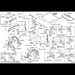 Фара левая без корректора Ленд Крузер / Land Cruiser 100 05- 124057L