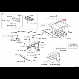 Фара левая под ксенон без корректора Ленд Крузер / Land Cruiser 100 05- 124056L