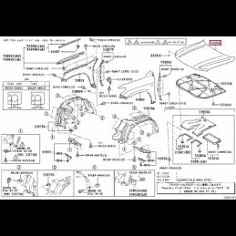 Фара правая под ксенон без корректора Ленд Крузер / Land Cruiser 100 05- 124056R