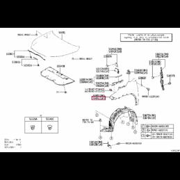 Фара противотуманная левая (выпуск стекло) Прадо / Prado 150 10- L321110003PL