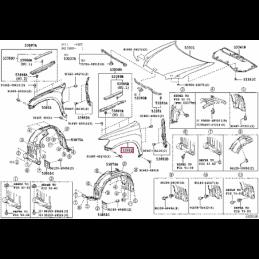 Фара противотуманная правая (выпуск стекло) Прадо / Prado 150 10- L321110003PR