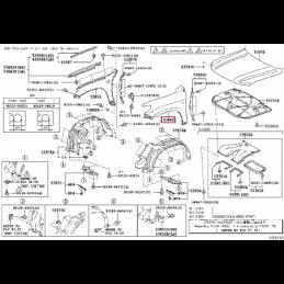 Фара левая с диодными лампами Ленд Крузер / Land Cruiser 150 14+ Casp