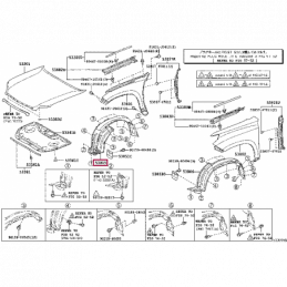 Комплект тюнинг фар Тундра / Tundra 07-13 / Sequoia линзы с ободками u-type внутри хром
