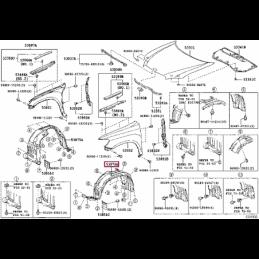 Комплект тюнинг фонарей Прадо / Prado хрусталь с диодами тонированный TY1132B0DE2