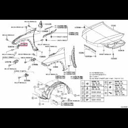 Моторное масло Тойота / Toyota 5w40 1л 0888080376GO