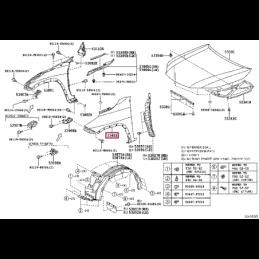 Антифриз Тойота / Toyota 5Л Концентрат (КРАСНЫЙ) 0888980014