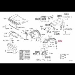 Масло для дифференциалов LT 75W-85 GL-5 1L, 0888581060