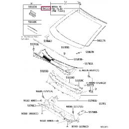 Смазка направляющих суппорта Toyota 0888783010