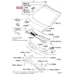 Тормозная жидкость 0,5Л Тойота / Toyota, DOT 5.1, 0882380005
