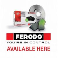 Тормозные колодки FERODO  для Ленд Крузер и Тойота Прадо/LX570 и GX460